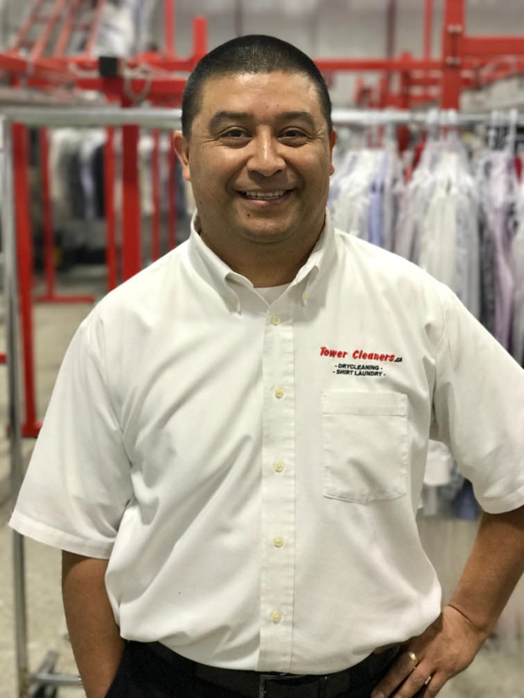 Adrian Roddriguez, Tower Cleaners Pickup and Delivery Route Driver.